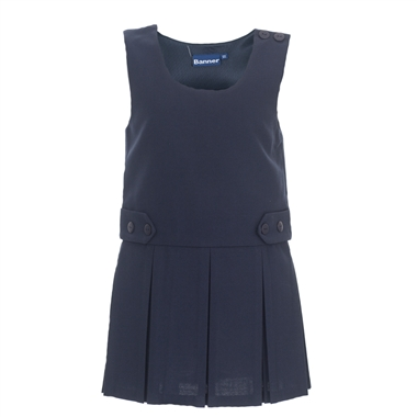 Tenby Pinafore - Navy