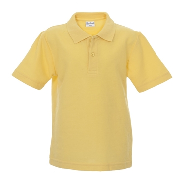 Polo Shirt in Gold