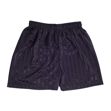 Black PE Shadow Shorts