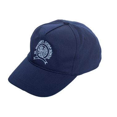 St Matthews Cap - Navy with School Crest