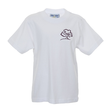 The Oaks Primary School Games T-shirt in White