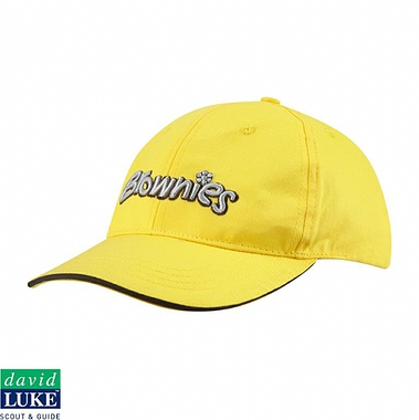 Brownies Cap - Yellow with Logo