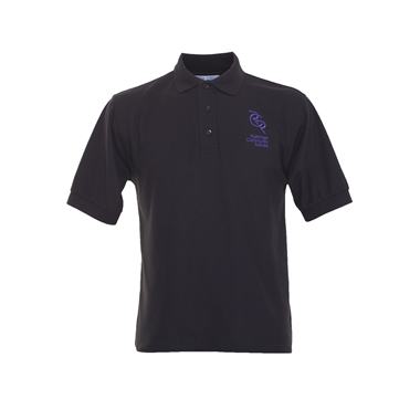 RCR Casual Polo Shirt for Men in Black