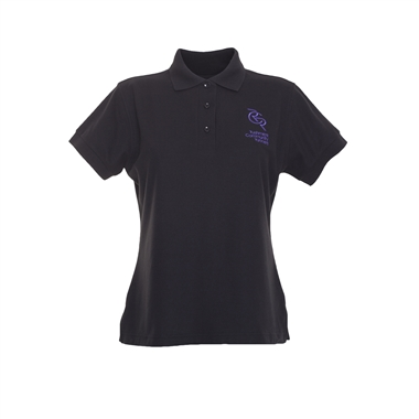 RCR Casual Polo Shirt for Women in Black