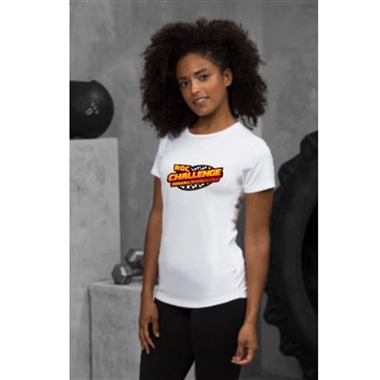 ROC Cool Smooth Foxhall Challenge Ladies Fit T-Shirt in White