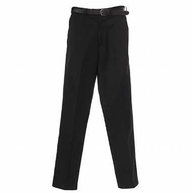 Junior Boys Flat Front Trousers - Grey